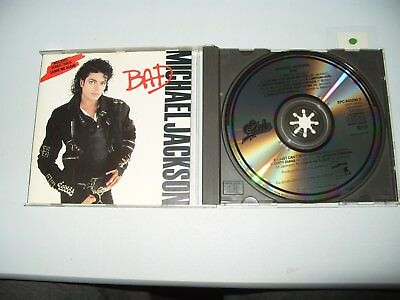 Michael Jackson Bad 11 Track cd 1987 Early Press Ex Condition Different cover