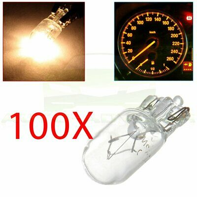 20X 5W T10 194 Purple Wedge Halogen Bulb Dashboard Cluster Side Light for Toyota