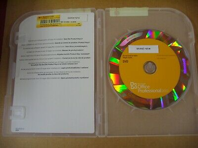 Microsoft Office 2010 Professional Licensed for 2 PCs Full w/DVD MS Pro  =NEW=