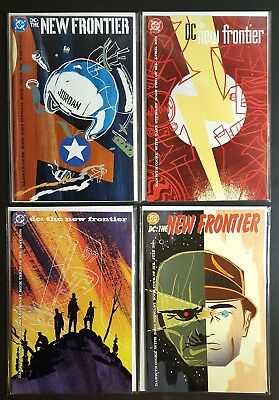 DC New Frontier #1, 2, 3, 4 (2004) by Darwyn Cooke Dave Stewart Justice League