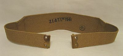 WW2 WWII Canadian Army P1937 P37 Equipment Straps Dated 1941 NOS Mint Condition