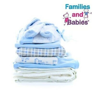 Boys Baby grows and Vests Age 0-12 Months 100 Item Bundle. Used Free P&P
