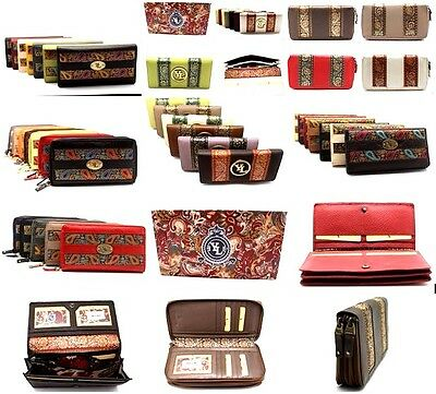 Closeout  Lot of 100 YL Women Clutch Wallet Zip Around Purse New in Box