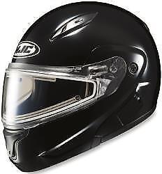 HJC CL-MAX 2 Snow Helmet Black (Size XS/S/M) With/Without Electric Shield