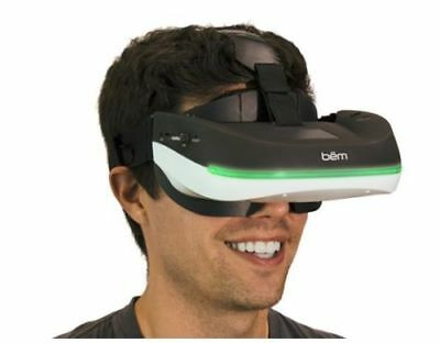 bem Home Theater Goggles or Teacher Aid with WiFi & Bluetooth BM0100 NEW 885762