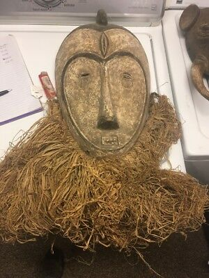 African Mask Iket Tribe Of Liberia
