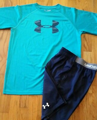 Boys clothing size xl size yxl under armour top shorts outfit