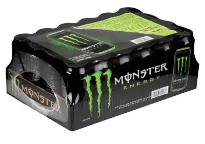Monster Energy Drink Original Flavor,16-Ounce Cans (Pack of 24) - Ship Free