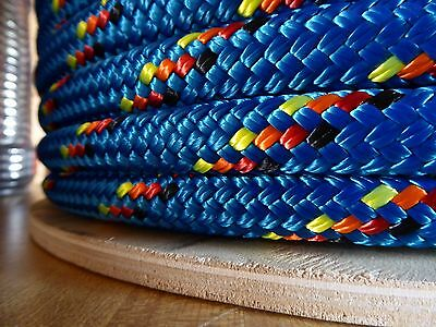 5/16 x 300 ft. Double Braid~Yacht Braid Polyester Rope.Made in the USA.
