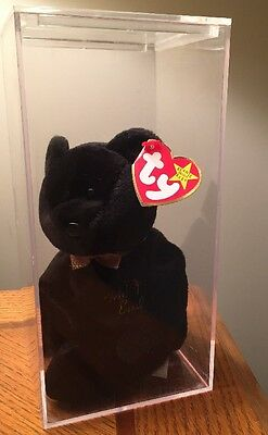 """Rare """"The End"""" Bear, With Mistakes, Retired TY Beanie Baby 1999🎉 On SALE"""