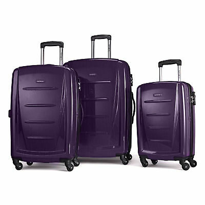 Samsonite Winfield 2 Fashion 3 Piece Spinner Set Purple