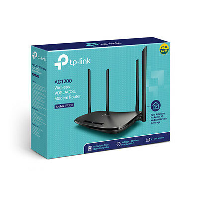 TP-Link Archer VR300 Wireless AC ADSL2+ VDSL NBN Ready Modem Router DualBand