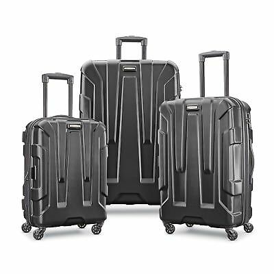 SAMSONITE CENTRIC 3 PIECE SPINNER SET-Black Color