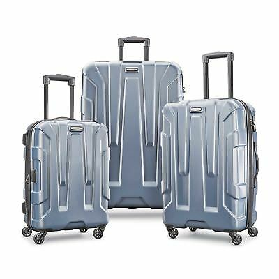 SAMSONITE CENTRIC 3 PIECE SPINNER SET-Blue Slate Color