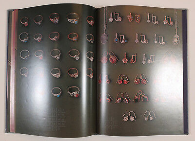 1985 Russian SOVIET SILVER JEWELRY MAKERS CATALOG ALBUM BOOK Illustrated