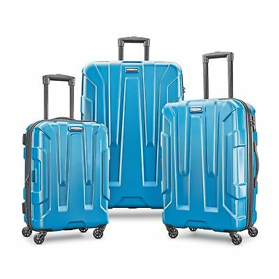 SAMSONITE CENTRIC 3 PIECE SPINNER SET-CARIBBEAN BLUE Color