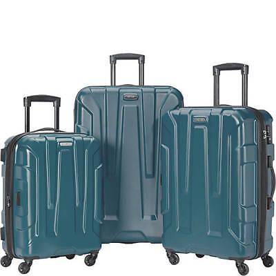 SAMSONITE CENTRIC 3 PIECE SPINNER SET-TEAL Color