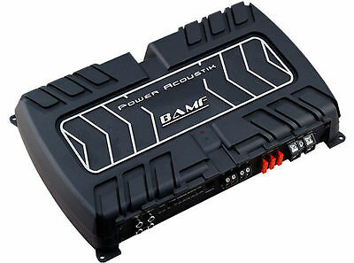 Power Acoustik Bamf1-5000D Monoblock 5000 Watt Class D Amplifier Mono Sub Amp