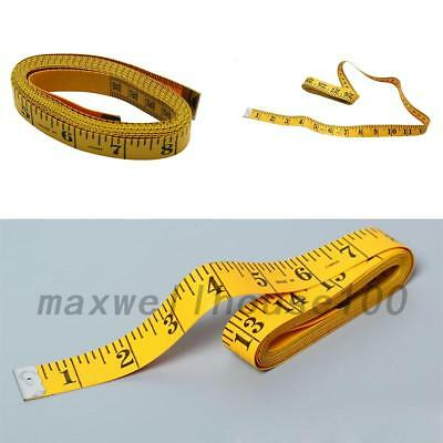 120'' (3M) Tailor Seamstress Cloth Body Ruler Tape Measure Sewing Cloth UK