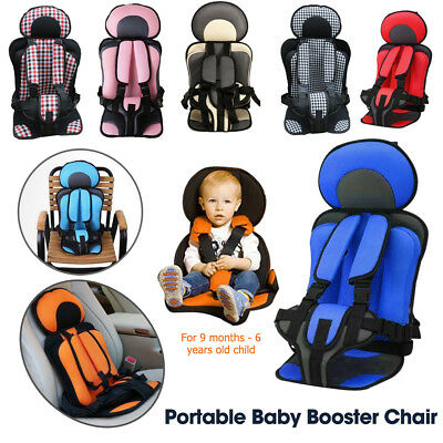 Portable Safety Baby Car Seat Infant Convertible Booster 0-6 Years Child Chair