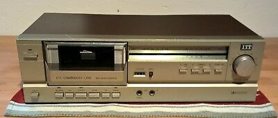 ITT 4020  Tapedeck int. shipping & paypal available