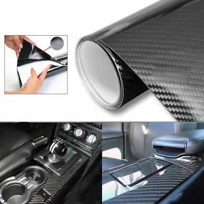 5D Car Sticker Film Carbon Fiber Color Changing DIY High Gloss 4x12 High Quality