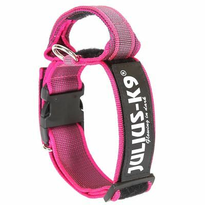 Julius K9 Collare Cani Collarino 50 mm 49-70 cm Nylon Rosa 200HA-K-PN-2015☺