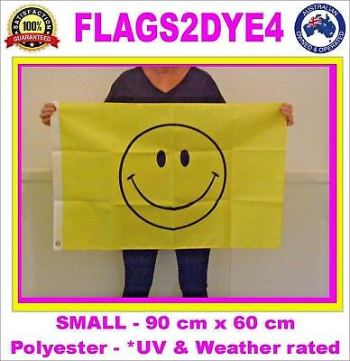 Smiley face flag Happy face flag includes AUSTRALIA POST TRACKING