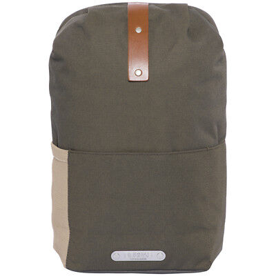 Brooks Dalston Knapsack Small 12l green fleck/honey 2018 Rucksack beige