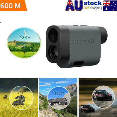 600m Laser Range Finder Golf Hunting Sports Distance Meter Height Speed Measurer