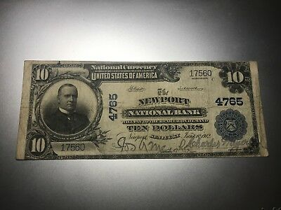 Newport, Kentucky National Bank Note. Charter 4765.