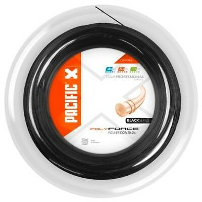Pacific Poly Force Black Series ; Tennis ; 1,24mm ; 200m Rolle ; NEU ; OVP