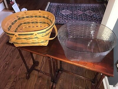 Longaberger Traditions Community Basket, 1996 - New Condition with protector