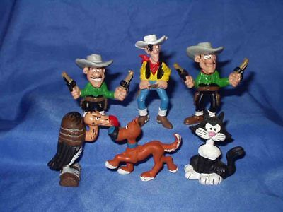 COMICfiguren - FUN6 :  6 x Lucky Luke : Schleich