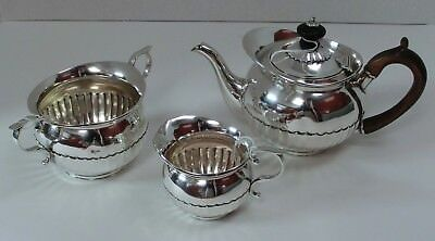 Rare Matched Bachelor's Tea Set in Cape Pattern - London 1779-84