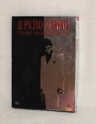 Scarface Al Pacino Two-disc Anniversary Edition DVD Movie (tk)