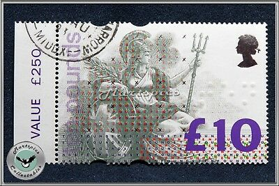 Great Britain 1993 High Value Britannia Stamp £10 Value SG1658 Mint Never Hinged