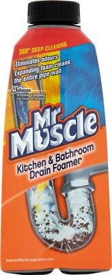 Mr Muscle Foamer Liquid 500ml Sink & Drain Leaves pipes clean and odour free