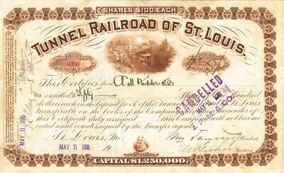 Tunnel Railroad of St Louis