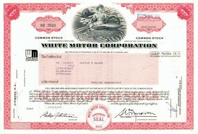 White Motor Corp - 50 Pieces
