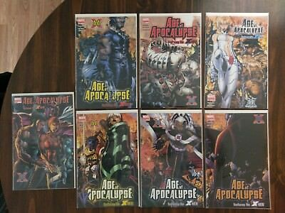 Age of Apocalypse Complete Sets from 1995 X-Men Wolverine 42 Issues