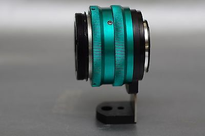 """2/3"""" B4 Mount Lens to M43 M4/3 BMPCC with built in 2X glass adjustable adapter"""