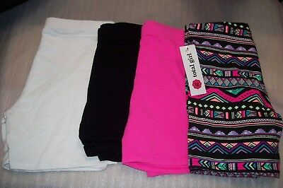 Girls Total Girl Midi Shorts Multiple Colors And Sizes New With Tags
