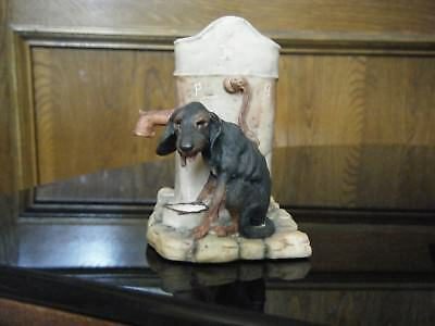 Lowell Davis dog Dry as a bone Schmid figurine