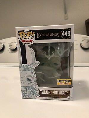 Twilight Ringwraith (Lord of the Rings) Funko Pop #449 - GID - Hot Topic Excl!