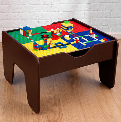 Marvelous Kids Activity Table Childrens Lego Table Train Set 2 In 1 Andrewgaddart Wooden Chair Designs For Living Room Andrewgaddartcom