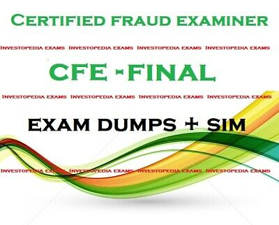 Certified Fraud Examiner CFE Exam questions pdf and simulator
