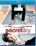 Secretary Bluray & Digital Copy New Sealed