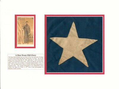 A Star from Old Glory Flag Relic