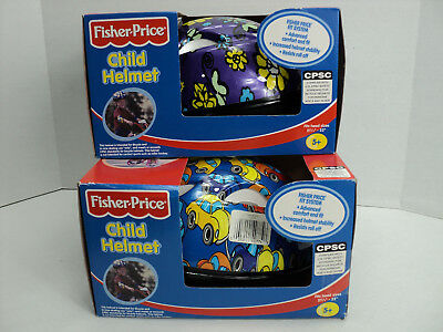 Fisher Price Child Bike Protective Helmet GEAR VW Beetle Design (CHOICE) of SEX